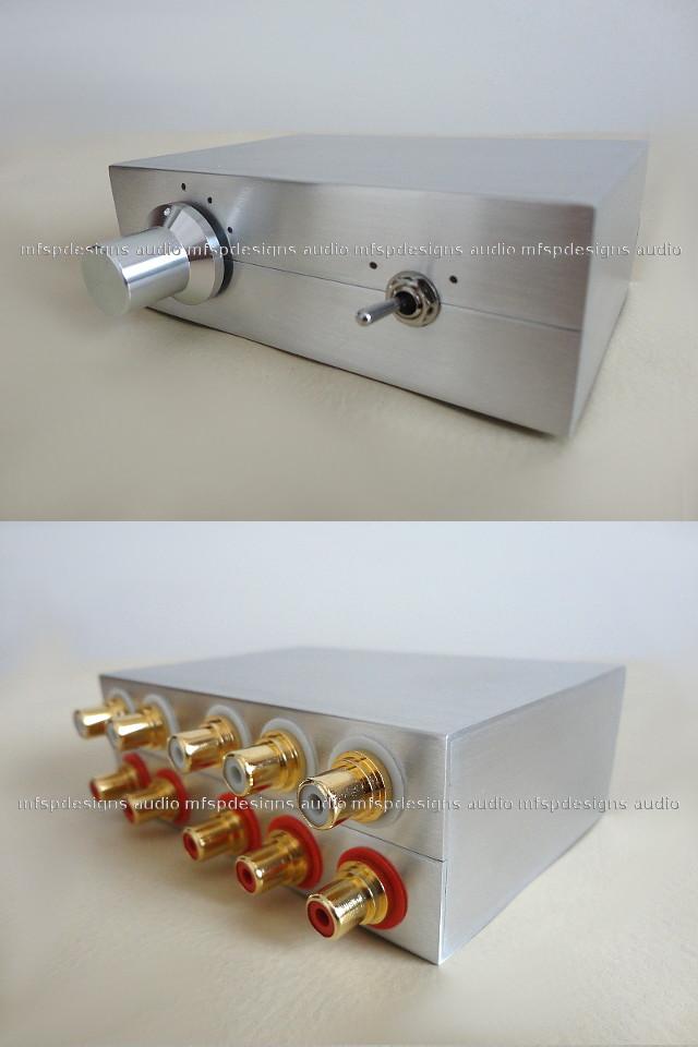 Conmutador Switch Box RCA de 3 Entradas / 2 Salidas Psb3-2r